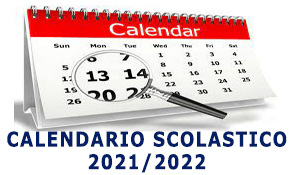 banner calendario Scolastico 2021/2022
