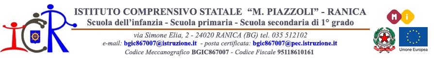 """Istituto Comprensivo Statale """"Maria Piazzoli"""" di Ranica"""