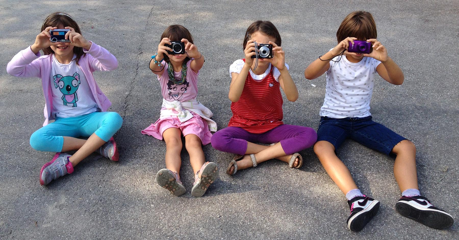 bambini fotografi