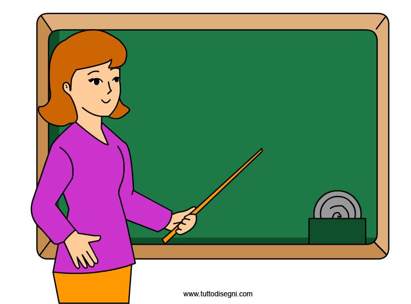 maestra lavagna